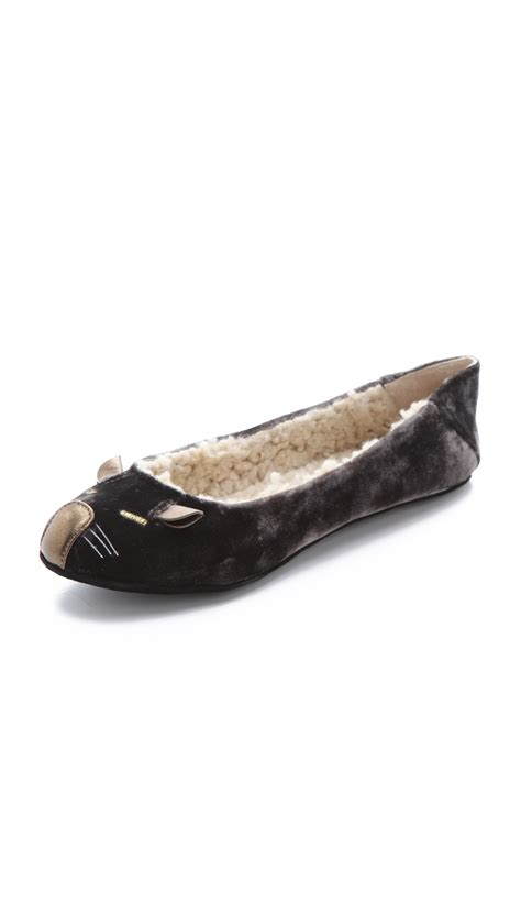 marc slippers marc by marc mouse slippers in gray grey lyst
