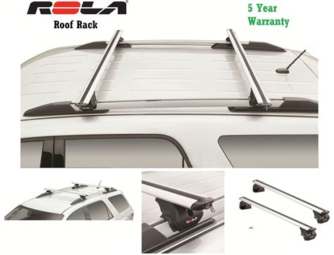 rola custom fit aluminum 165lbs roof rack 2010 16 gmc