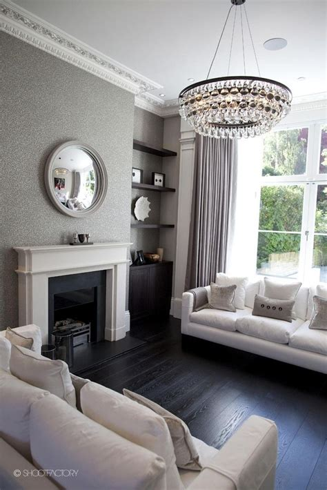 8 ideas to use a round mirror in a large living room wallpaper round mirror living room victorian terrace