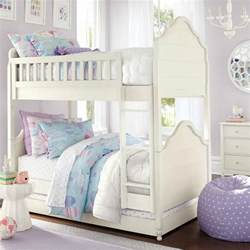 new bunk beds and pretty bedding for from