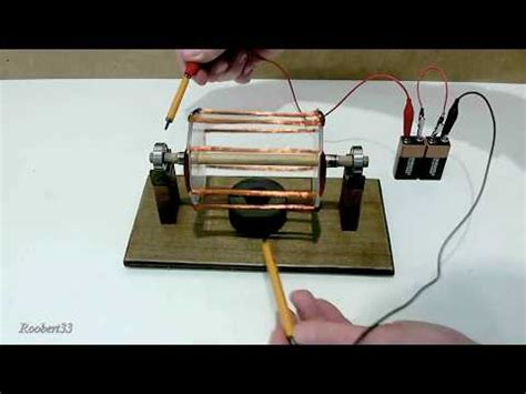 how to make a fan with dc motor how to make an electric motor homemade youtube
