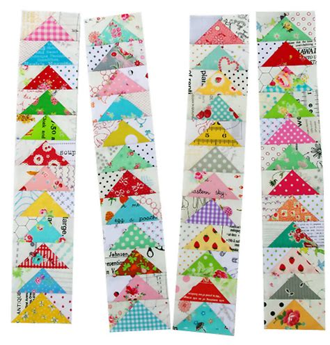 Patchwork Goose - pepper quilts flying geese and bloc loc rulers