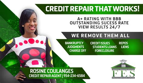 Credit Repair That Works Credit Repair Flyer Template