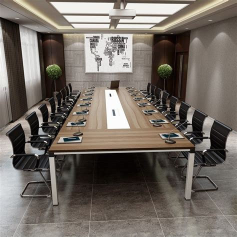 Modern Conference Table Design 2017 Top Design Boardroom Office Furniture Wooden Glass Rectangular Conference Table Modern