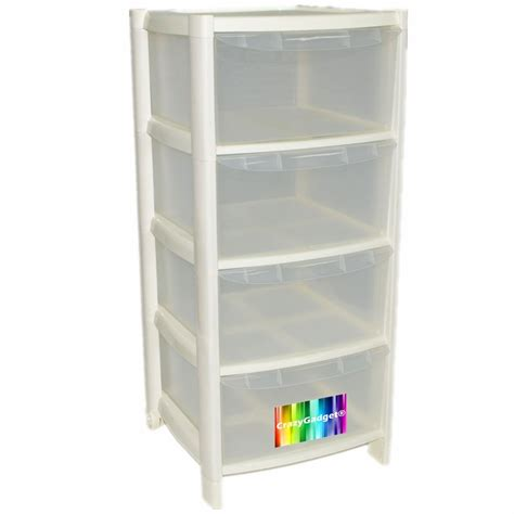 4 drawer plastic storage unit white 4 drawer plastic large tower storage drawers chest 4