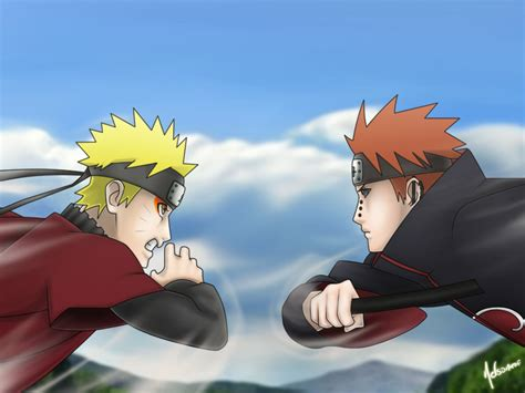 download wallpaper bergerak naruto vs pain naruto vs pain by nelsonaof on deviantart