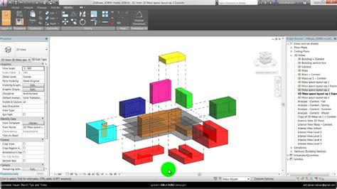 space planning autodesk vasari revit process oriented space planning