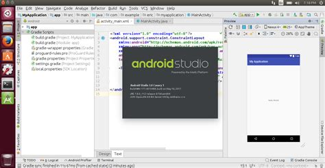 install android studio on ubuntu android er and install android studio 3 0 canary 1 on ubuntu 17 04