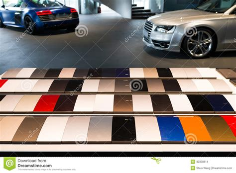car paint sles stock photo image 40338814