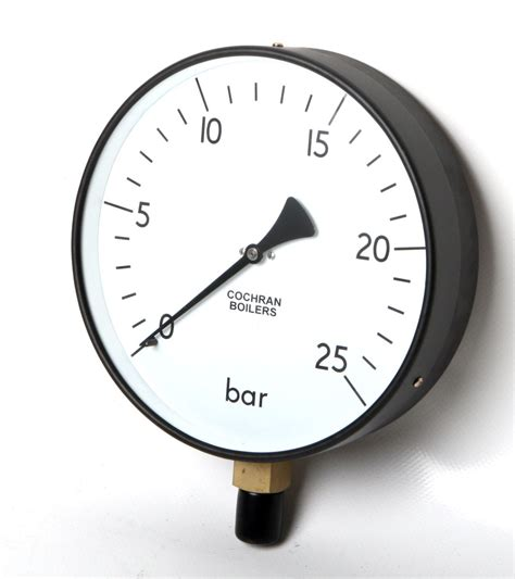 Pressure 25 Bar Cochran Pressure 200mm Dia 0 25 Bar Cochran
