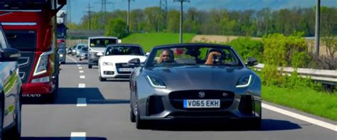 jaguar on top gear top gear jaguar f type svr dpccars