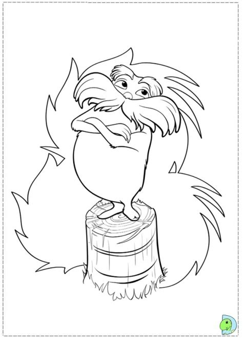 printable lorax mask the lorax coloring page printable fun coloring pages