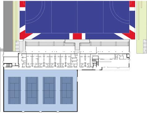 floor hockey unit plan lee valley hockey and tennis centre stanton williams