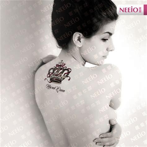 queen tattoo on neck taurus temporary tattoo stencil 187 tattoo ideas