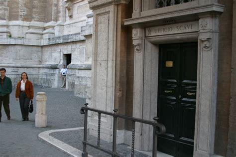 uffici vaticano the vatican necropolis scavi