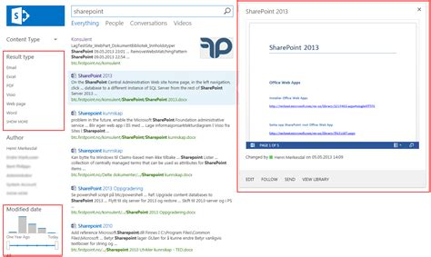 Search Search Sharepoint 2013 Search Center Setup
