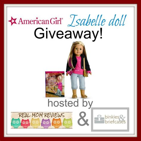 American Girl Doll Giveaway - american girl 2014 doll of the year giveaway binkies and briefcases