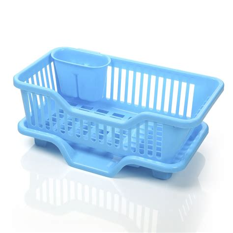 Kitchen Sink Tray Dish Drainer With Drip Tray For Kitchen Sink Rack Ideamart Shop In Pakistan