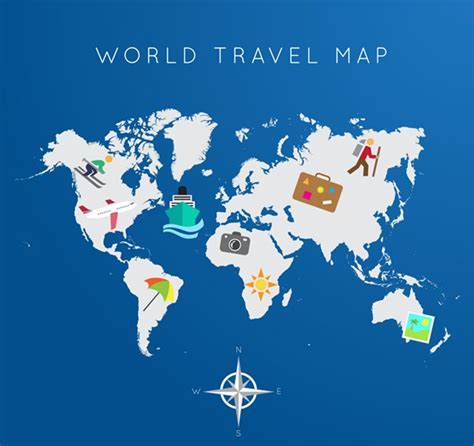photoshop world map global travel map vector graphics my free photoshop world