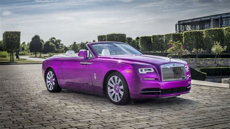 2017 Rolls Royce Dawn In Fuxia Review Top Speed