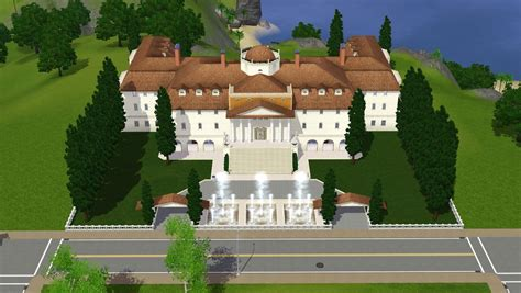 Www Coolhouseplans Com sims 3 luxury mansion by ramborocky on deviantart