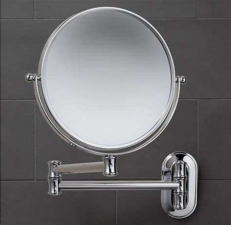 A Bathroom Mirror Which Has A Large Extension Useful Bathroom Extension Mirrors