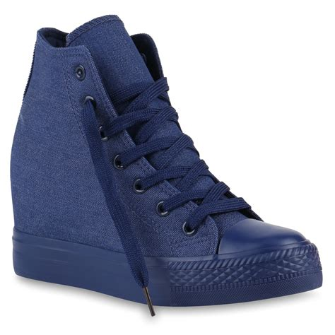Sneakers Denim damen sneaker in denim blau 891646 4439 stiefelparadies de