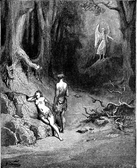 Looking For The Lost Paradise of the day gustave dor 233 from pradise lost