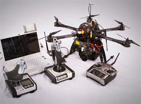 controlled drone attack on the drones is shooting with a drone