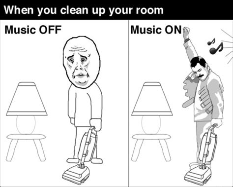 Clean Your Room Meme - when you clean your room funny memes music meme funny