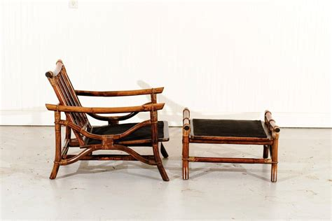 Ficks Reed Chair by Superb Pair Of Vintage Ficks Reed Rattan Lounge Chairs