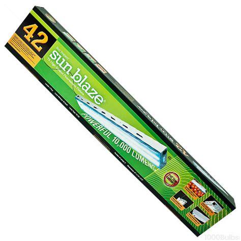 t5 ho grow light sun blaze 960296 fluorescent grow light fixture