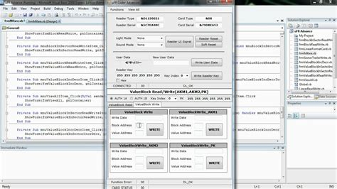 Get Squarespace Card Template Source Code by Rfid Nfc Mifare Programming Visual Basic Net Windows