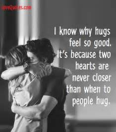 Love Pic Quotes by Hugs Feel So Good Lovequotes Com