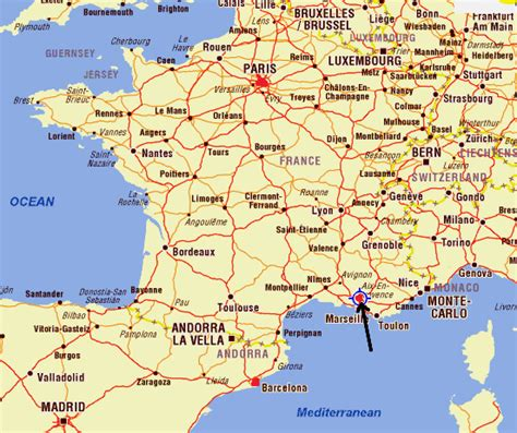 provence france map map of aix en provence france images