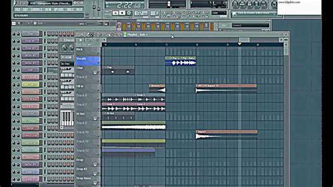 tutorial fl studio download gangnam style fl studio 10 tutorial flp project view