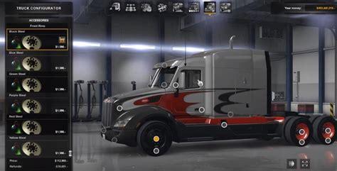colored contacts simulator colored rims pack 1 1 1 american truck simulator mods