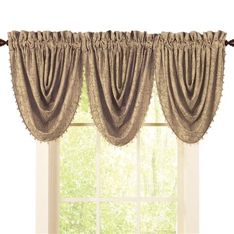 beaded valance crushed taffeta beaded window valance ebay