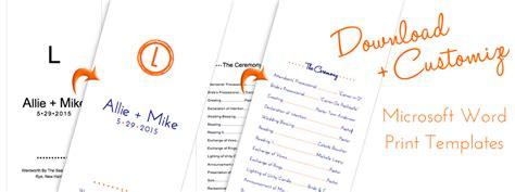layered wedding programs templates diy layered wedding program project made easy lci paper