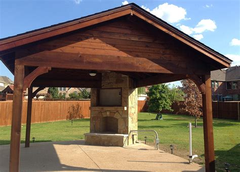 Patio Cover Company Little Elm  A Better Fence  Pergolas