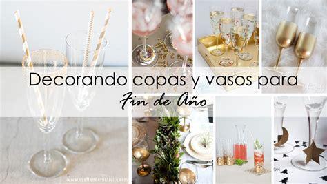 como decorar vasos de cristal para navidad decoraci 243 n f 225 cil decorando copas y vasos para fin de a 209 o