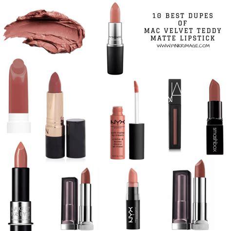 Lipstik Mac Matte Velvet Teddy dupes for mac velvet teddy matte lipstick from drugstore