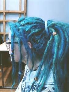 color dreads blue teal dreads hair colors ideas