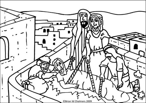 free coloring pages of healing of paralytic