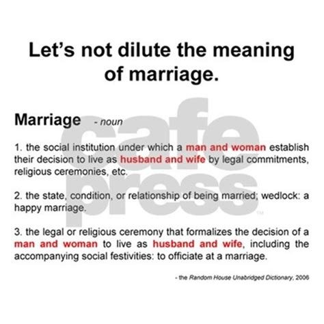 Dioique definition of marriage