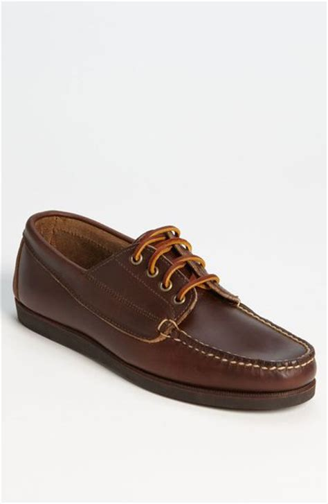 eastland boat shoes eastland falmouth usa boat shoe in brown for lyst