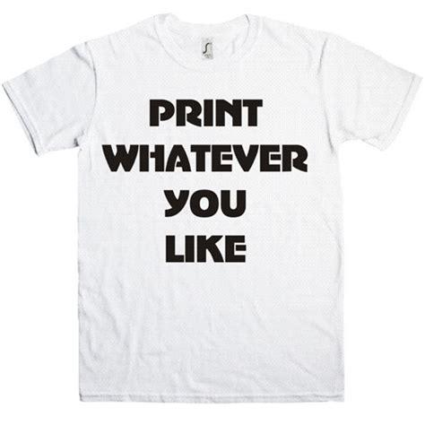 printable vinyl t shirt personalised custom london tshirt printing company