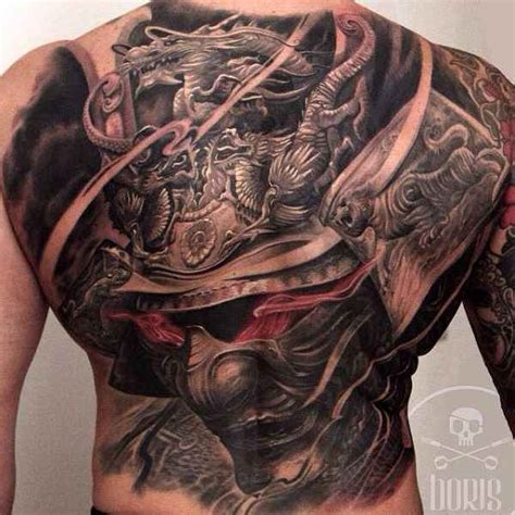 tattoo 3d full back 60 samurai tattoos ideas meanings and designs