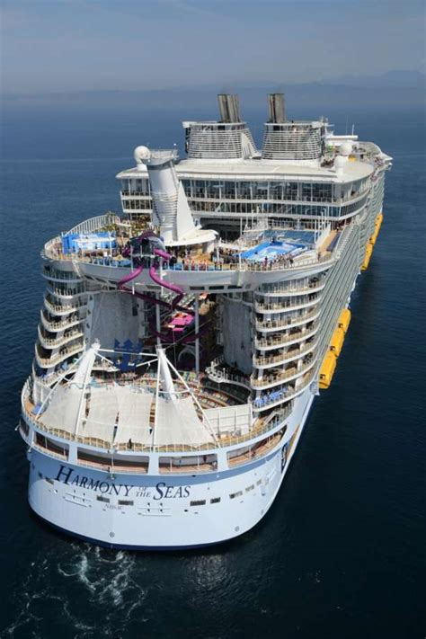 world s largest cruise ship debuts with high energy high photos a look inside the world s largest cruise ship with