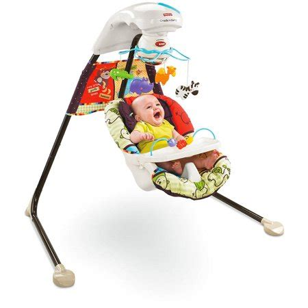 Fisher Price Papasan Cradle Swing by Fisher Price U Zoo Cradle Swing Walmart